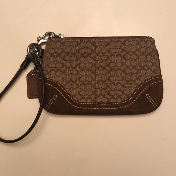 Coach Handbags - Classic Coach Wristlet